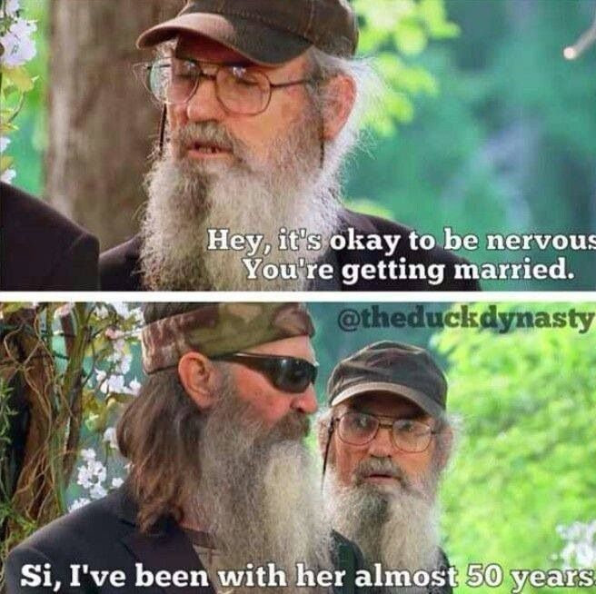 Si, Phil, & Miss Kay Robertson #duckdynasty #marriage