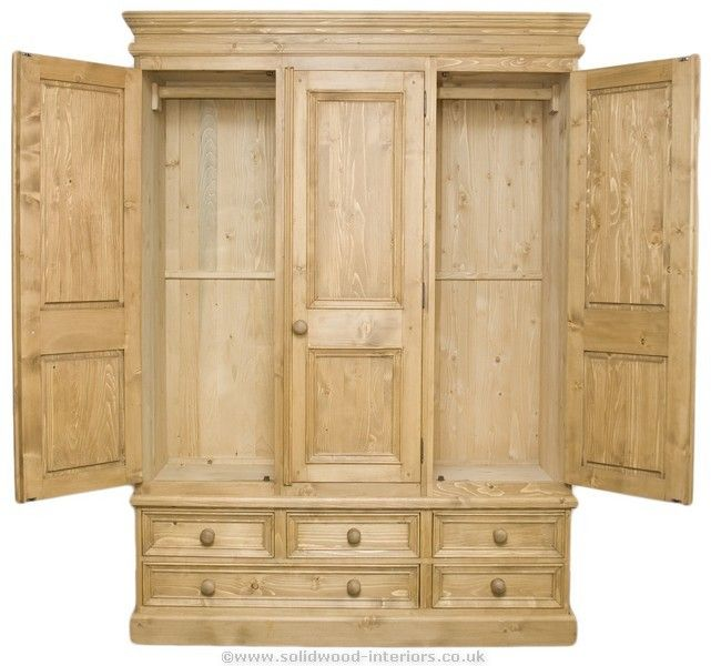 Pine Wardrobes For Adding Natural Texture To Homes Pine Wardrobe Natural Texture Pine Bedroom Furniture