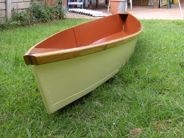 cheap canoe   Mauritz's 'cheap canoe'