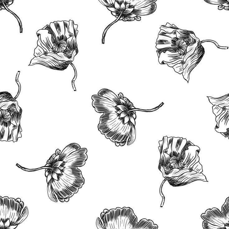 Hice este estampado de flores a mano para este top de @sferaofficial, y ya lo@podeis encontrar en tienda! ✏️✏️✏️ Sketchy flowers for @sferaofficial fall winter collection, now in stores! #mariaysasi #floralpattern #work #sfera #fashion #printandpattern #patterndesign