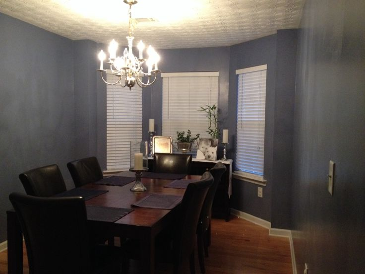 My Blue Gray Dining Room Paint Behr Hilo Bay Things I