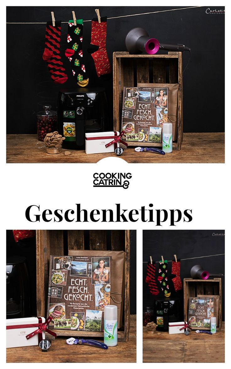 Geschenke, gift guide, weihnachtsgeschenke, geschenketipps, geschenkideen, christmas, weihnachten, DIY, cook book, happy socks, daniel wellington, dyson, gilette, philips, christmas presents...http://www.cookingcatrin.at/wir-lieben-geschenke-unsere-christmas-favorites/