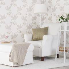 En lekker blomstertapet som passer perfekt inn i stua!
