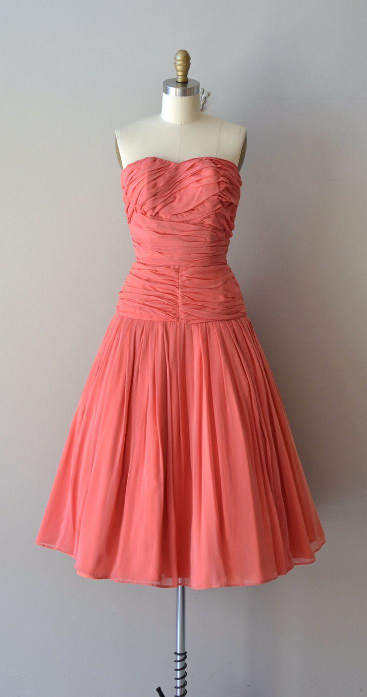 Unforgettable Season dress vintage 50s dress by DearGolden