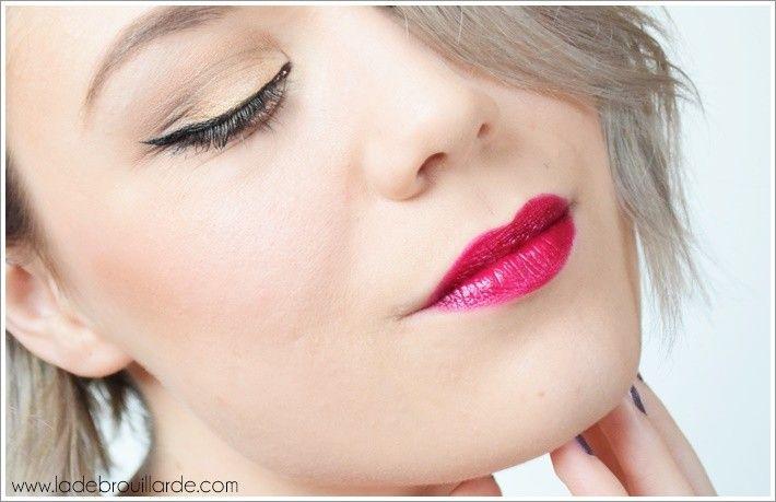 rouge à lèvres prune Mac #swatch #diva #mac #lipstick