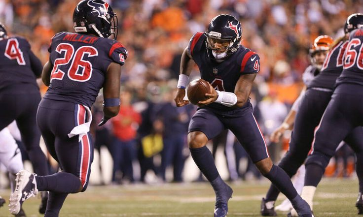 Bill O'Brien praises Deshaun Watson = Houston Texans head coach Bill O'Brien praised quarterback Deshaun Watson after the rookie led the team to a 13-9 win over the Cincinnati Bengals on Thursday evening, according to Mike Florio of Pro Football Talk. Watson.....