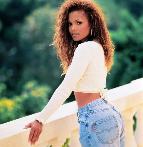 90's Janet Jackson! Love it.