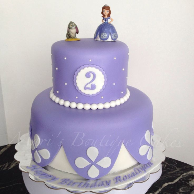 Sophia the First Cake - by Mari's Boutique Cakes