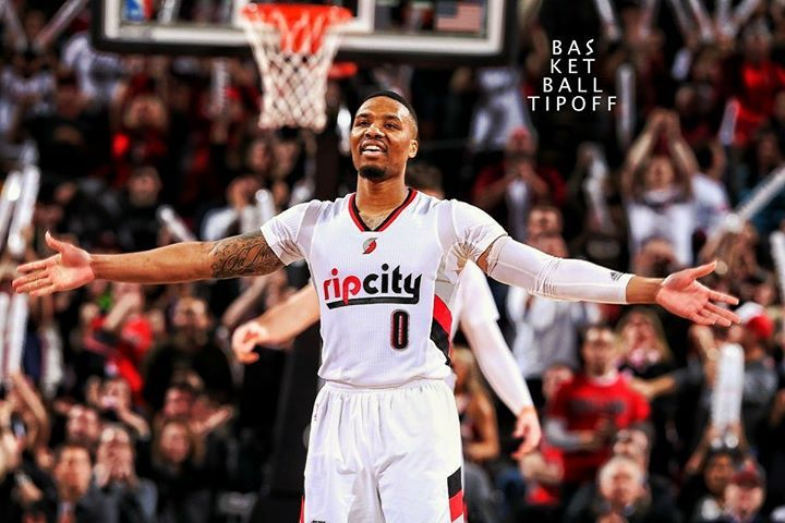 The Portland Trail Blazers are currently 3rd place in the Western Conference and 5th place in the entire NBA! -ATrain
