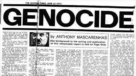 An account of the 71 genocide