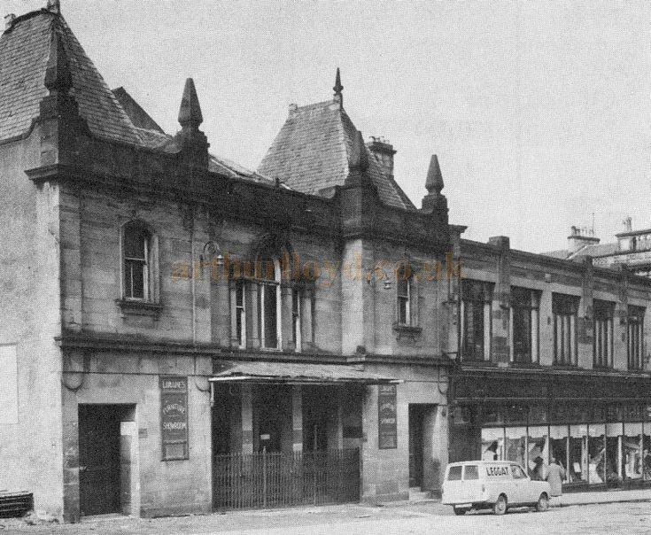 The Greenock Empire Theatre in the 1950s - Courtesy Graeme Smith.