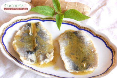 Filetti di Aringa saltati in padella con Salsa di Limone e Zenzero