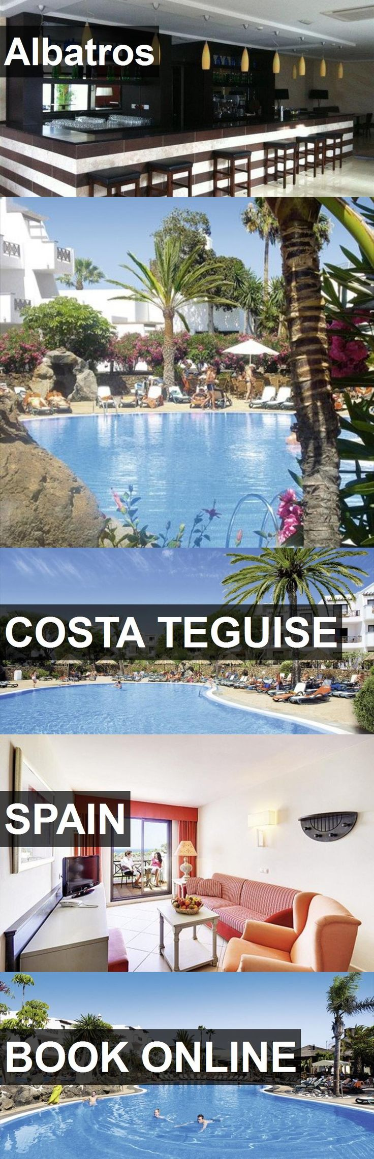 Hotel Albatros in Costa Teguise, Spain. For more information, photos, reviews and best prices please follow the link. #Spain #CostaTeguise #travel #vacation #hotel
