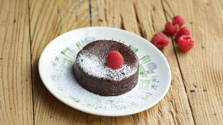 Devin Alexander's Chocolate Not-Only-In-Your Dreams Cake Recipe  -Each serving (1 cake) has: 203 calories, 7 g protein, 46 g carbohydrates, 2 g fat, 1 g saturated fat, 0 mg cholesterol, 6 g fiber, 364 mg sodium
