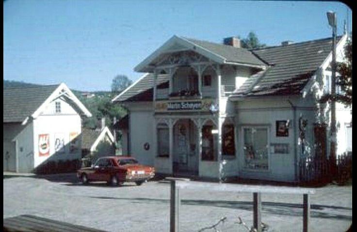 Akershus fylke Skedsmo kommune Leirsund Schøyens Landhandleri 1970-tallet