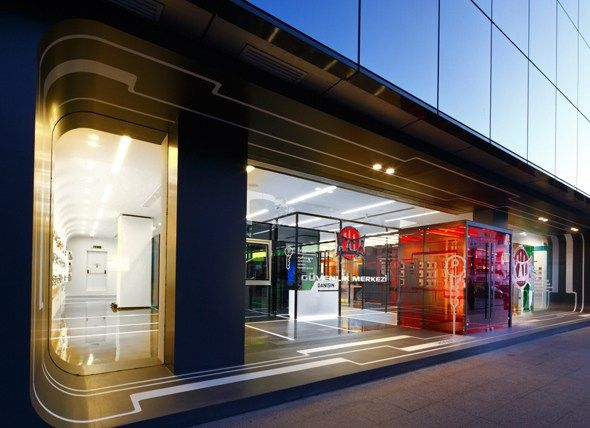 kale kilit showroom space-i-am istanbul