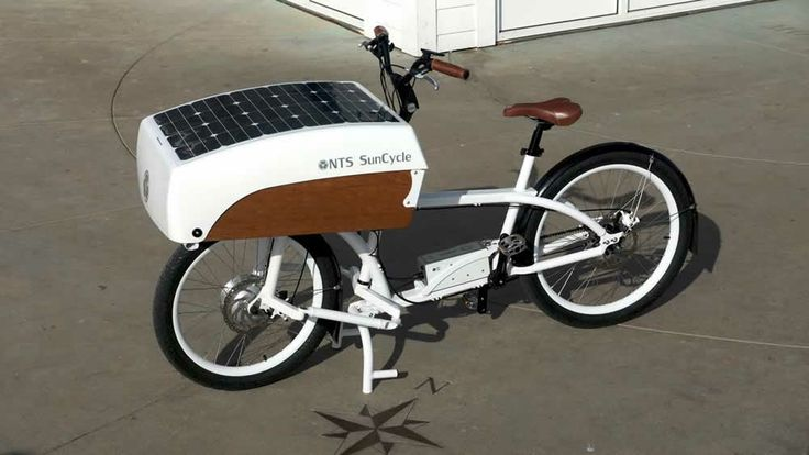NTS SunCycle - NTS Works Solar Powered Battery Assist 60W