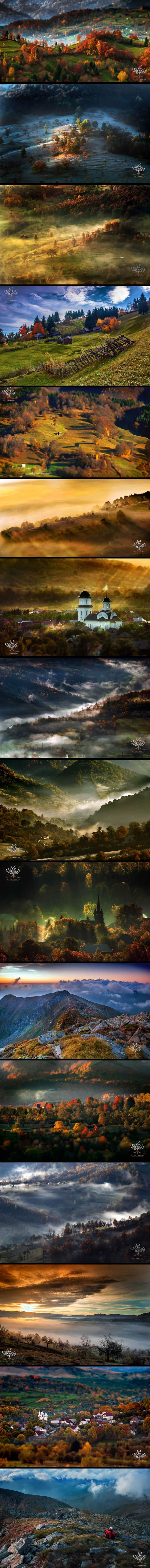 Photographer Wakes Up At 5am To Hike In Transylvanian Mountains And Photograph…