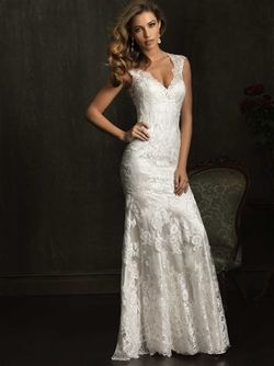Allure Bridal Gown - check out the rest of the wedding dresses here! blossomsbridal.com