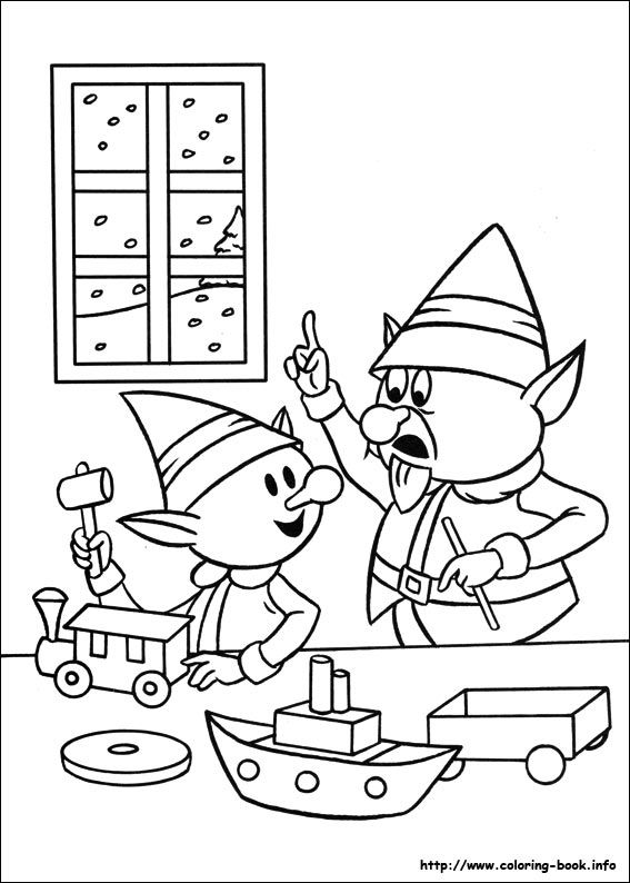 17 best images about rudolph the red nose reindeer on for Rudulph coloring pages