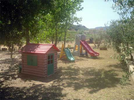 Family holidays in Italy Sardinia Villa Melissa is a haven for children, lots of playing ground and freedom to keep them occupied while you relax.