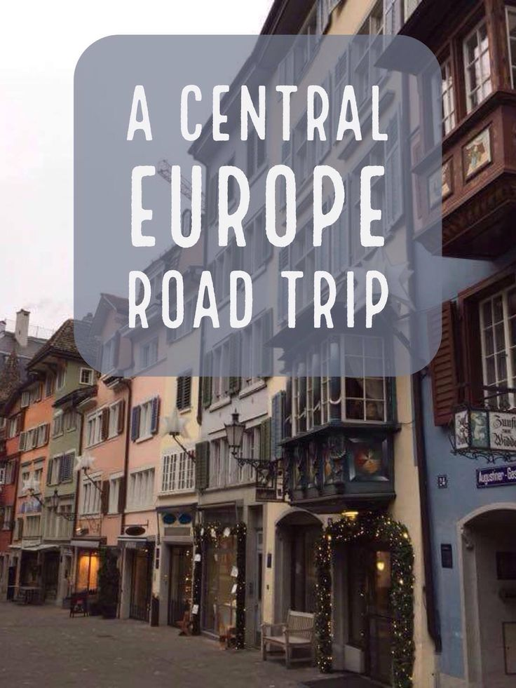 Central Europe Road Trip - Germany, Austria, Liechtenstein and Switzerland | My Wandering Voyage travel blog