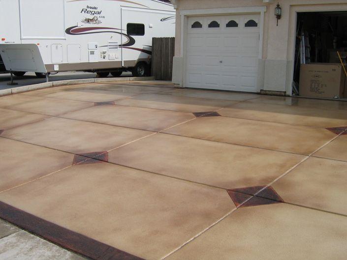 Concrete Driveways Stamped Concrete Textured Concrete Sealer