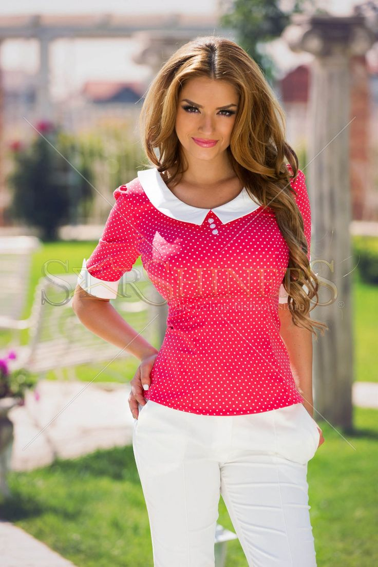 Fofy Happy Spots Coral Shirt
