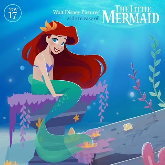 Happy Anniversary to The Little Mermaid!