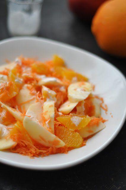 Narancsos-répás-almás saláta | Csak a Puffin