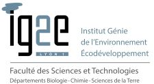 Formation universitaire dans le domaine de l'environnement : Diplôme d'Université