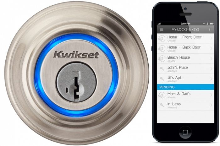 Unlock Your Doors With a Touch or a Virtual Key With UniKey. Need this!!