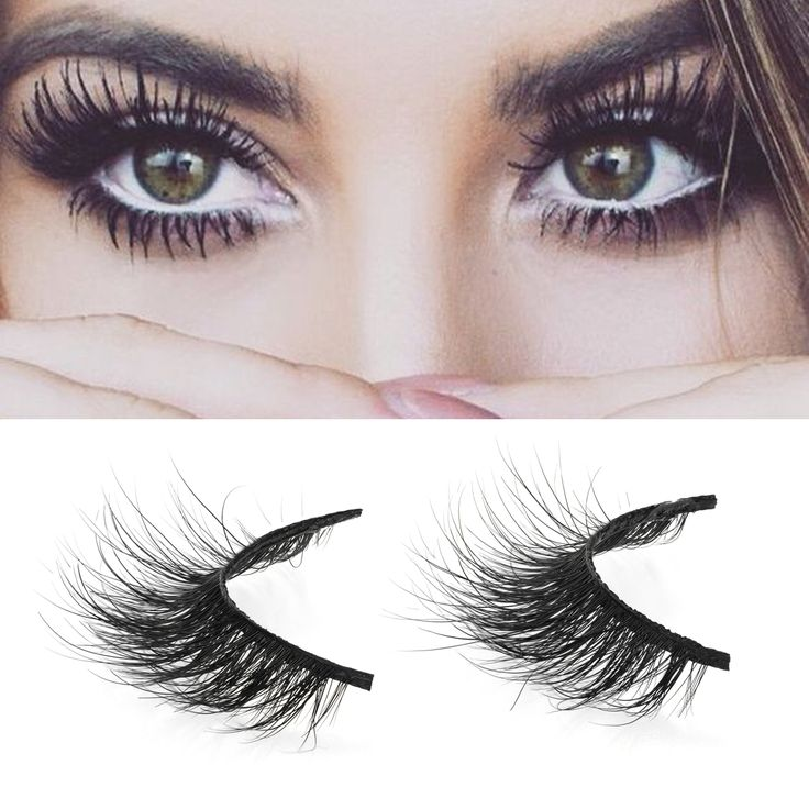 1 pair 3d mink lashes wholesale Lilly 100% real mink fur Handmade crossing lashes individual strip thick lash A01-A19 #Affiliate