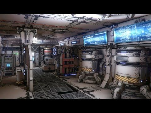 Top down sci fi first person mode unity 3d youtube for Unity 3d room design