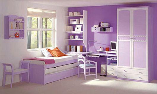Decora el hogar: Fotos - Cuartos para niñas / Purple Room!!
