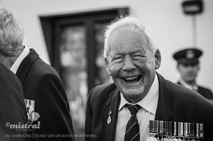 Gorgeous WWII Veteran shot on Anzac Day as part of the NZIPP WWII Vets project.   www.mistralphotography.co.nz