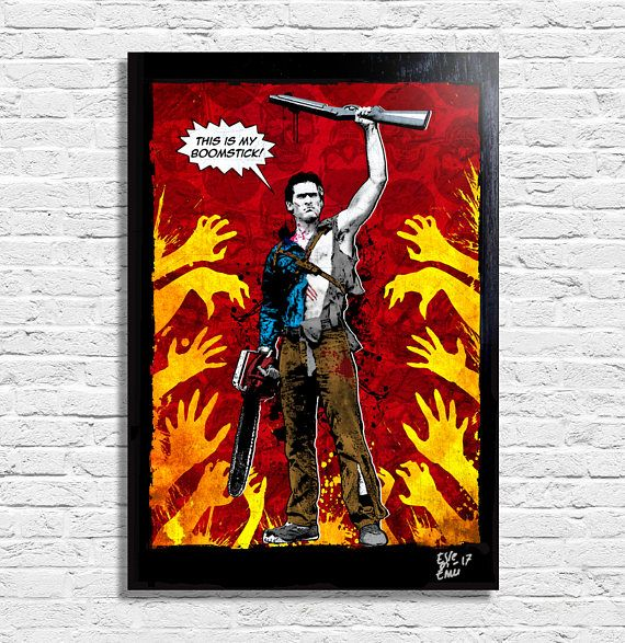 Ash Williams from Evil Dead Army of Darkness Bruce Campbell