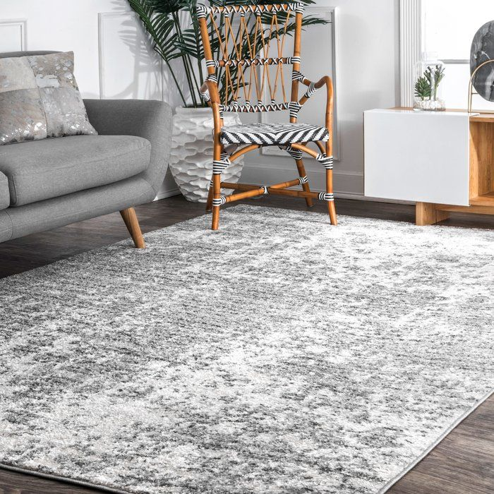 Jakobe Cool Polypropylene Gray Area Rug Reviews Joss Main Rugs In Living Room Grey Rugs Grey Area Rug