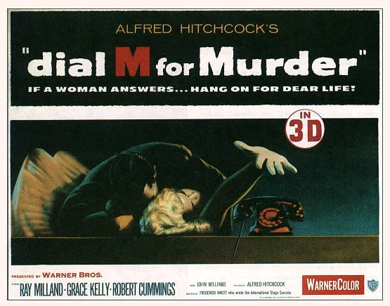 .: Movie Posters, Favorite Movies, Dial, Alfred Hitchcock, Grace Kelly, Murders, Cinema Posters, Classic, Hitchcock Movies