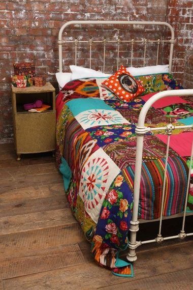 http://pinkfriday.blogg.se/ Boho Bohemian Bohème Gypsy Ethnic Chic Bedroom