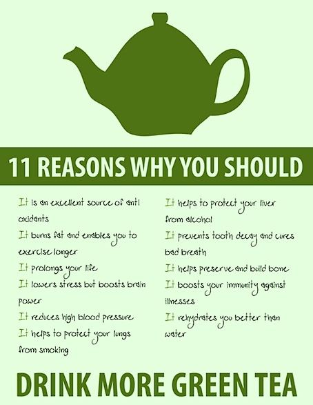 Research has proven green tea is helpful for weight loss... I'll just take my green tea capsules