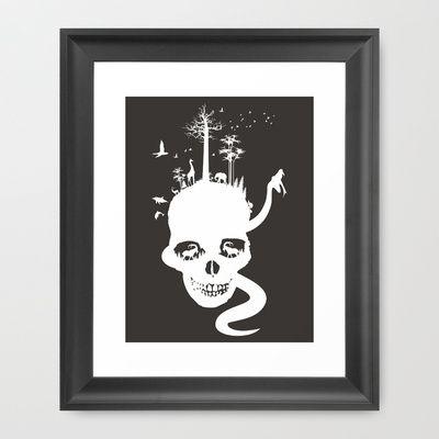 Preservation Framed Art Print by CreativeNerveDesign - $35.00