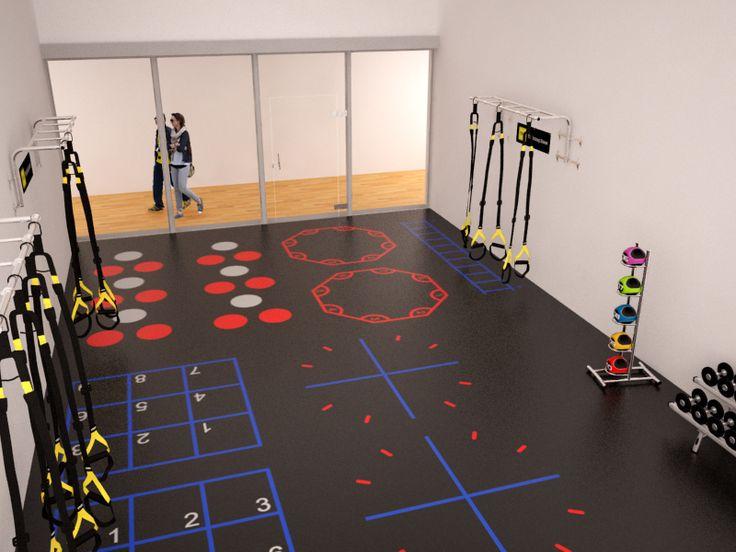 Best praktijk images on pinterest gym design and