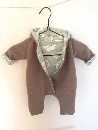 Baby Walkoverall Faltschiffchen