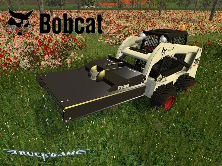 Bobcat Brushcat для Farming Simulator 2015 - http://truckgame.ru/farmingsimulator2015/bobcat-brushcat-dlya-farming-simulator-2015/