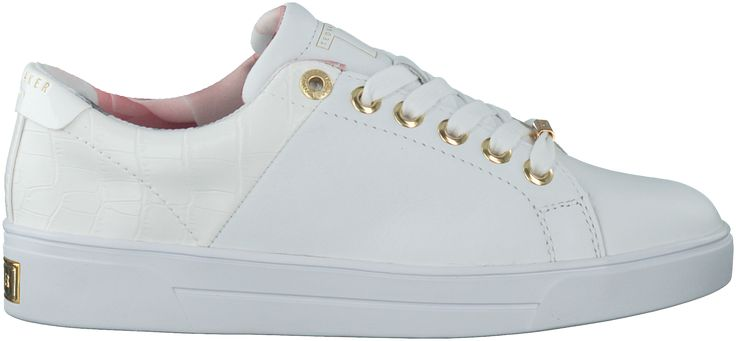 mooie Witte Ted Baker Sneakers OPHILY