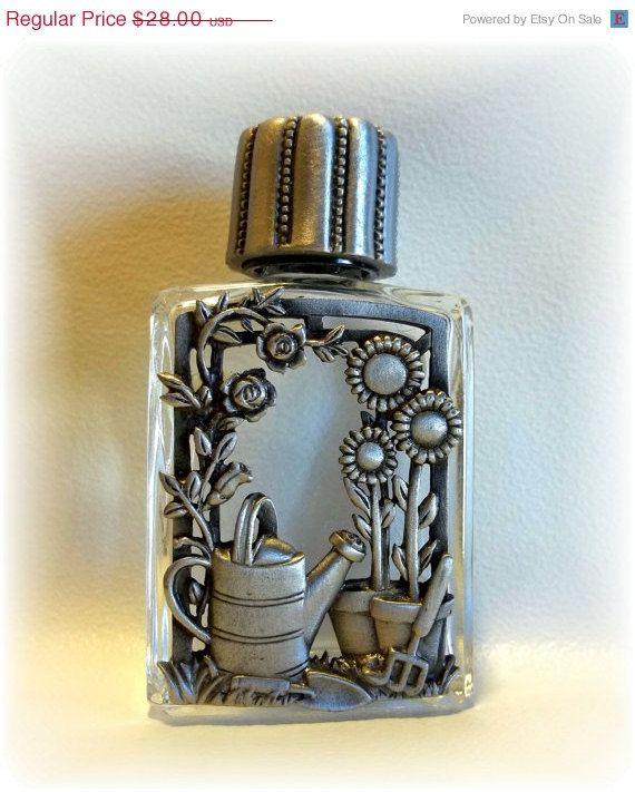 Garden Flowers Perfume Bottle JJ Jonette vintage @dollherupshop , $21.00