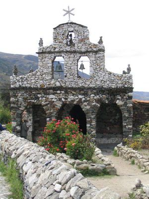A stone church built by Juan Felix Sanchez in San Rafael de Mucuchies, just outside Mérida. Venezuela