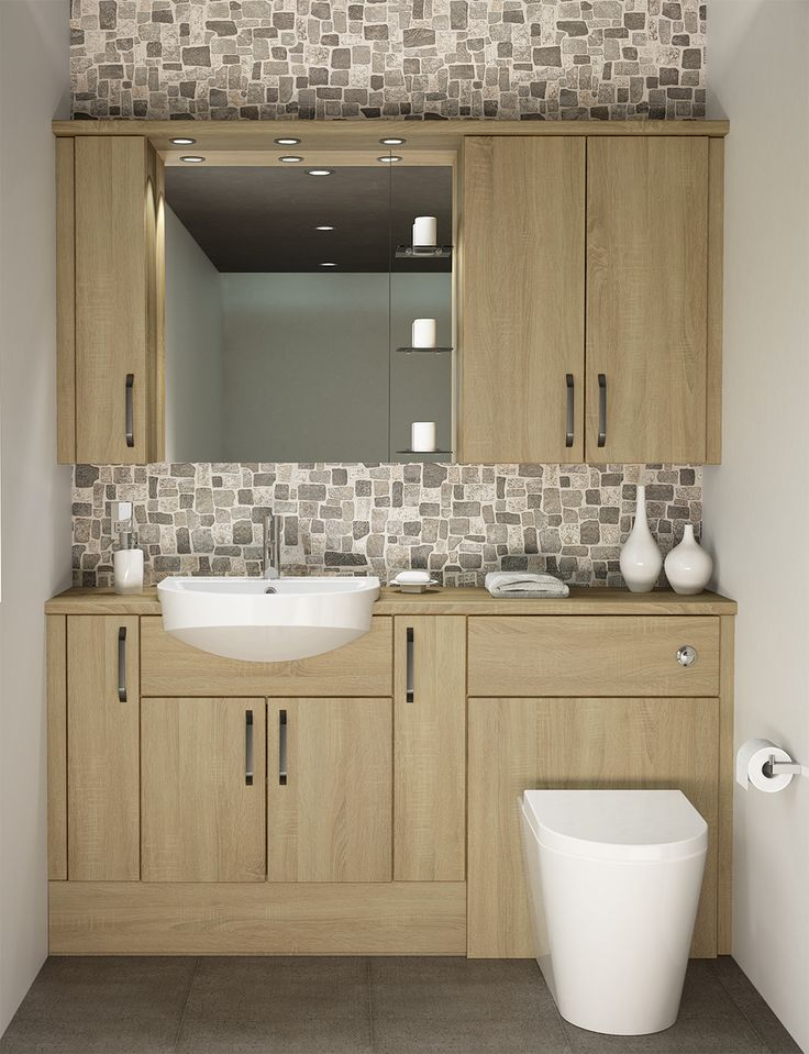 Choose furniture that feels as good as it looks with a woodgrain effect finish like Dune. Dune Oak is a refreshing woodgrain that will really brighten up a room. The unique markings will add depth and detail to your bathroom. This finish looks great with neutral coloured tiles.