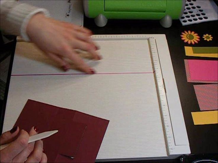 This interactive Swing Card is so much fun to make! Watch this video to see a unique way to cut a card to make it move.